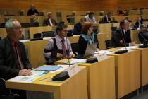 Publikum na konferenci