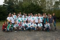Sedm desítek dobrovolníků ze skupiny Unipetrol